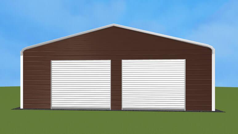 28x26 Regular Roof Garage