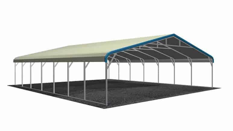 28x31 Regular Roof Carport