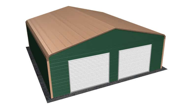 28x31 Regular Roof Garage