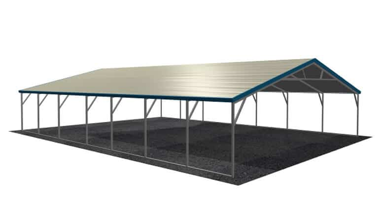 28x36 A-Frame Roof Carport