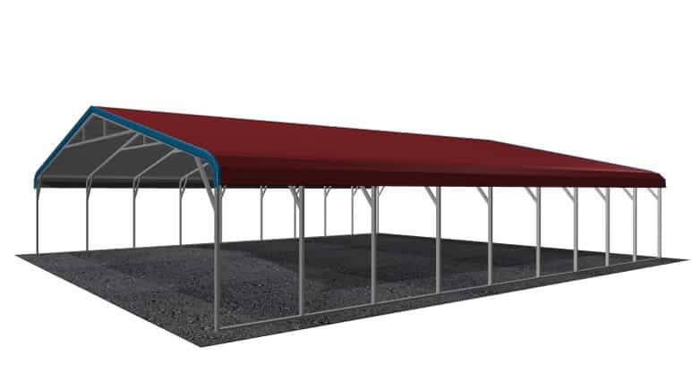 28x36 Regular Roof Carport