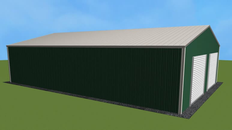 28x41 All Vertical Style Garage