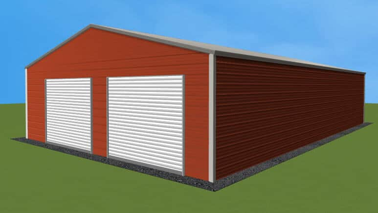 28x46 Residential Style Garage