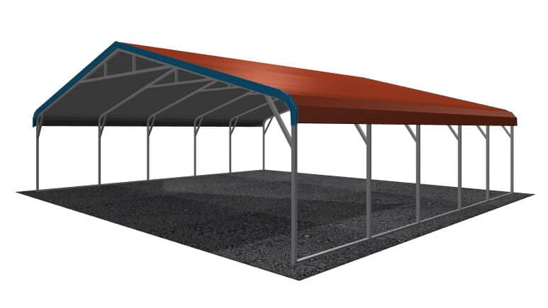 30x21 Regular Roof Carport