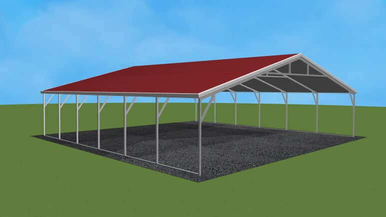 30x26 A-Frame Roof Carport