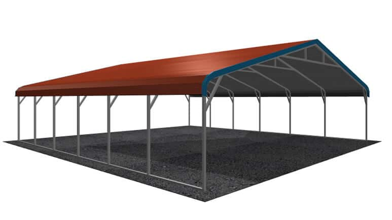 30x26 Regular Roof Carport