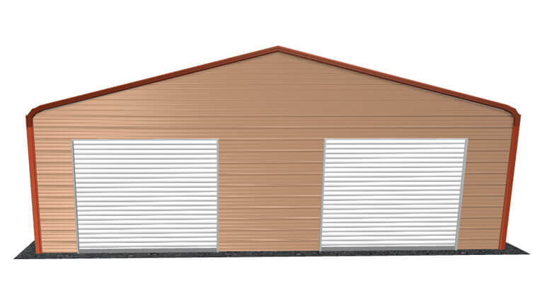 30x26 Regular Roof Garage