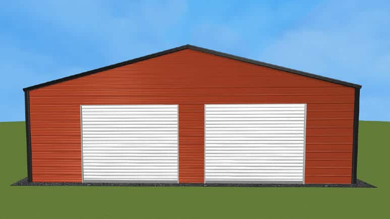 30x26 Residential Style Garage