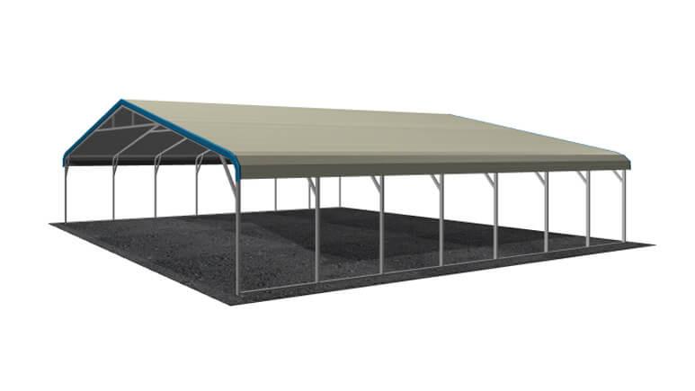 30x31 Regular Roof Carport