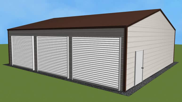 30x31 Side Entry Garage