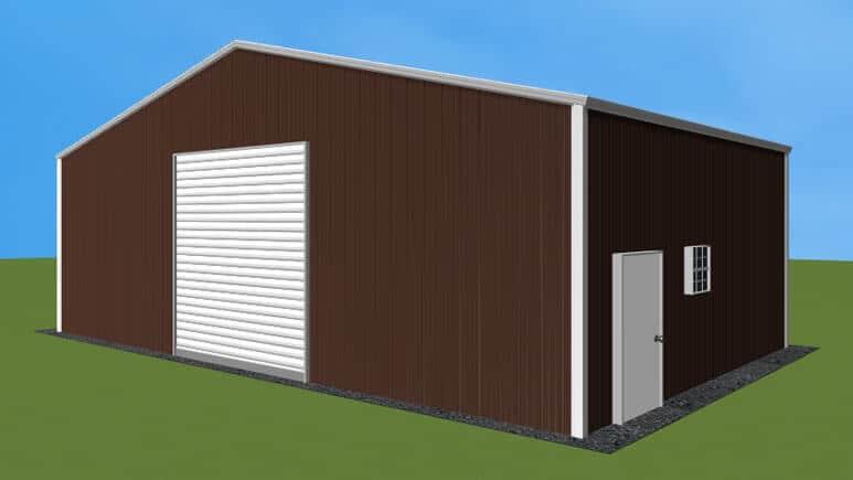 32x21 Metal Building