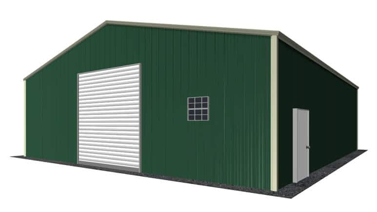 32x36 Metal Building