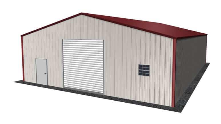 32x46 Metal Building