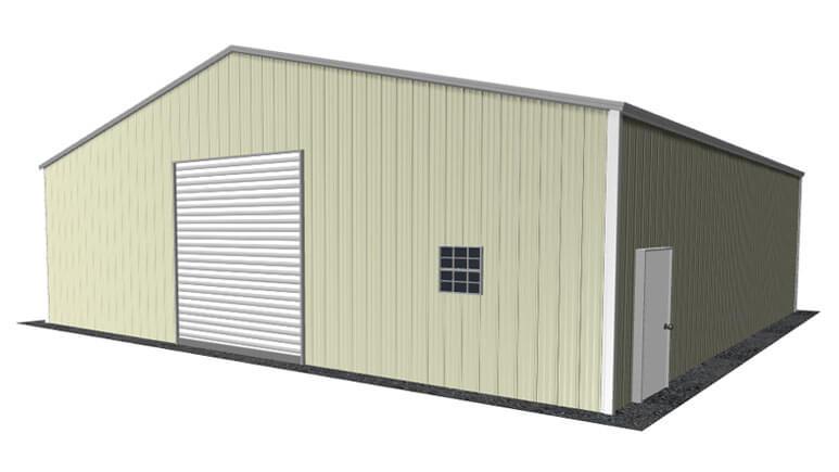 36x36 Metal Building