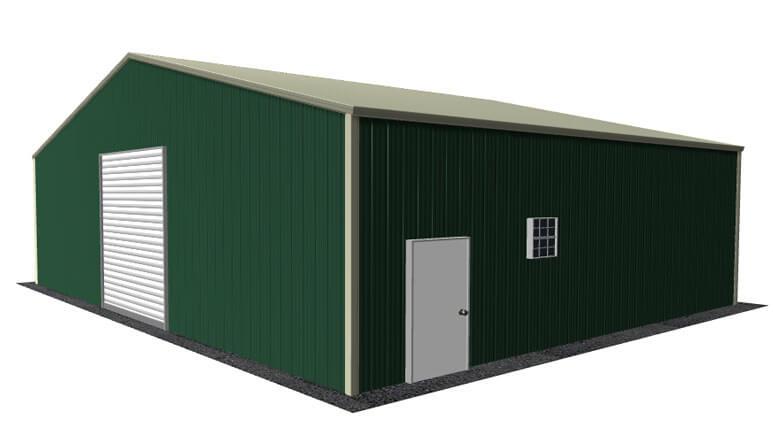 38x31 Metal Building