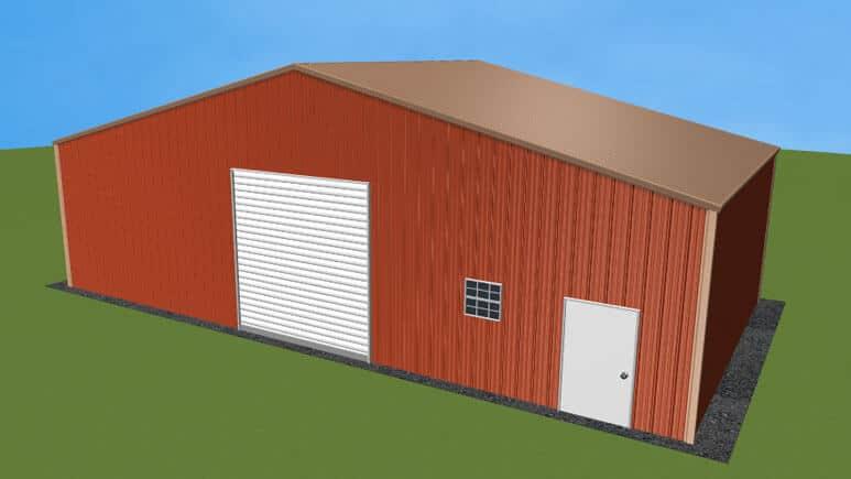 40x21 Metal Building