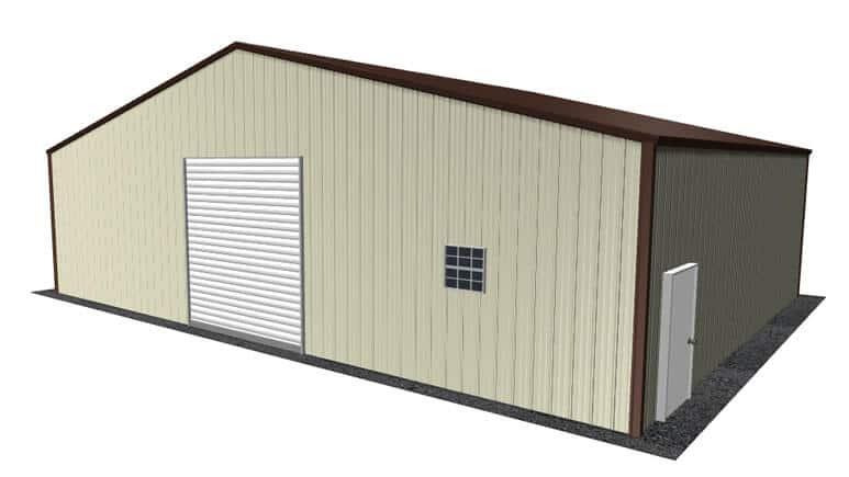 40x31 Metal Building