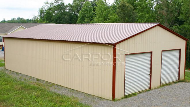 All Vertical Style Garages