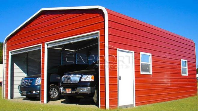 Regular Roof Garages