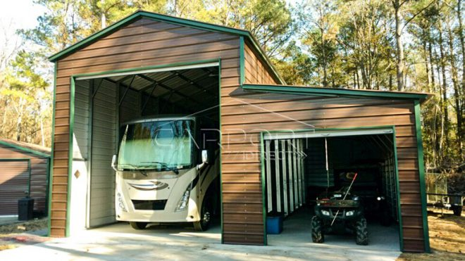 Vertical Roof RV Covers
